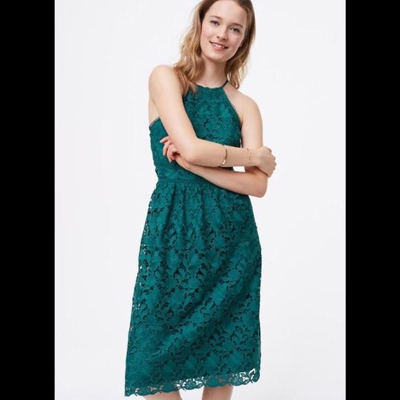 LOFT Dresses & Skirts - Loft Lace Halter Dress